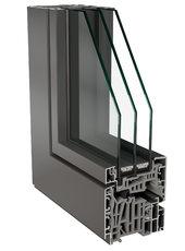 Hliníková okna 01